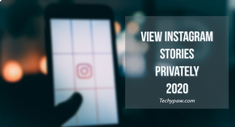 View Instagram stories privately