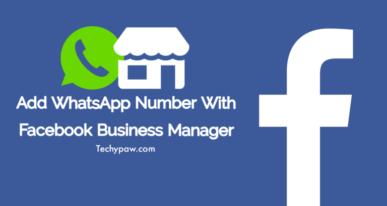 add whatsapp number with facebook business manager