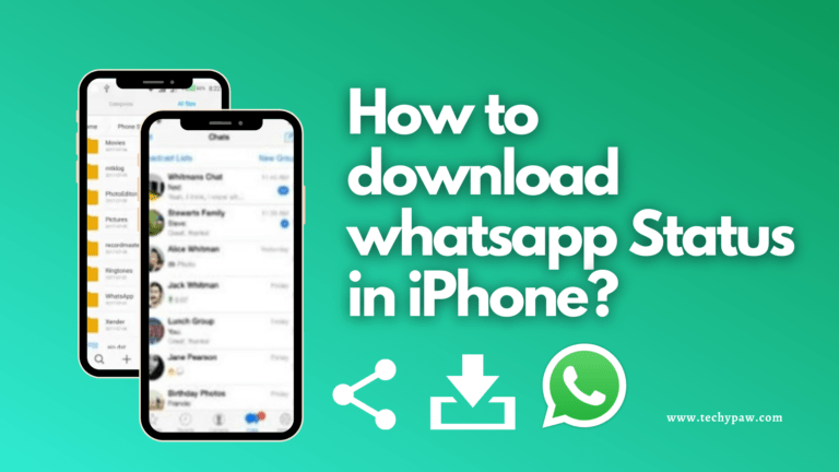 How to Download WhatsApp Status in iPhone?[Updated]
